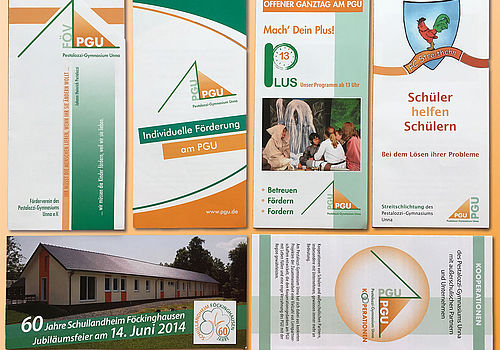 Flyer Pestalozzi-Gymnasium Unna